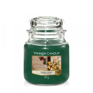 Candela Yankee Candle giara media Singing Carols