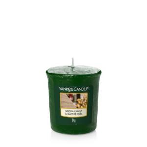 Candela Yankee Candle sampler Singing Carols