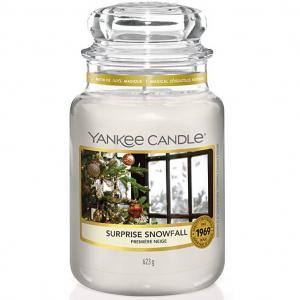 Candela Yankee Candle giara grande Surprise Snowfall