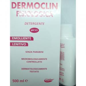 DERMOCLIN FISIOLOGICA DETERGENTE INTIMO 500ML + 150 ml IN OMAGGIO