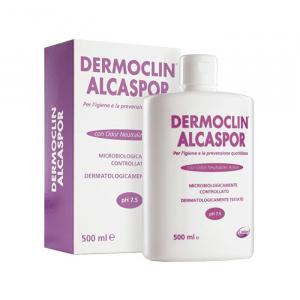 DERMOCLIN ALCASPOR DETERGENTE INTIMO LENITIVO 500ML