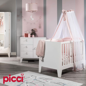 Cameretta completa linea Astrid by Picci | Rosa