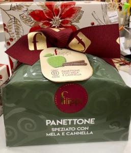 Panettone Speziato Mela e Cannella 1 Kg. Pasticceria Filippi