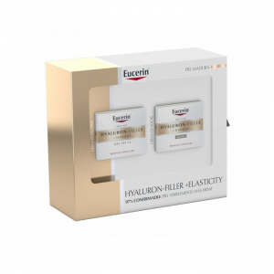 Eucerin Hyaluron  Filler + Elasticy Day Box Spf 15 50ml + Night Cream Set 2 Pieces