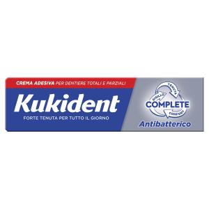 Kukident Complete Antibatterico crema adesiva per protesi dentarie 47 g
