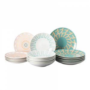 Set Tavola 18 Pz Thomas by Rosenthal serie COLOR GAME PASTEL