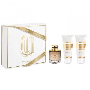 Boucheron Quatre Absolu de Nuit Femme Eau De Parfum Spray 100ml Set 3 Parti