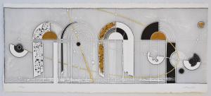 Valentini Walter  Portale Incisione Formato cm  50x110