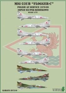MiG-23UB in Polish AF service