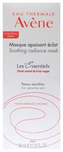 Avène les Essebtiels masque apaisant éclat- maschera lenitiva idratante luminosità