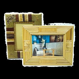 Cornice porta foto in fibra Naturale