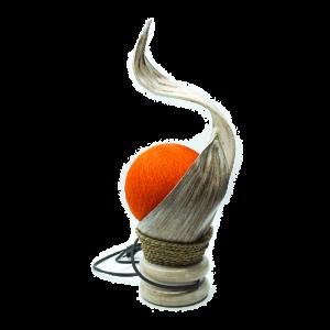 Lampada in foglia di cocco