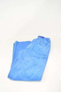 Pants Boy Jeckerson Blue 8years Velvet Ribbed