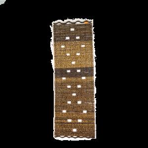 Tenda tutto Legno, bordo ondulato 50 x 150 cm