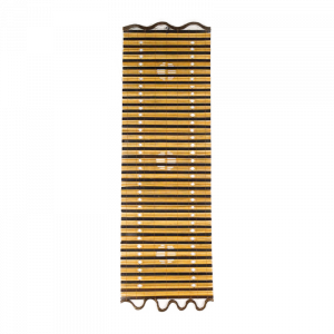 Tenda Legno Fori e disegno 40 x 120 cm