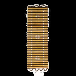 Tenda Legno Fori e disegno  40 x 100 cm