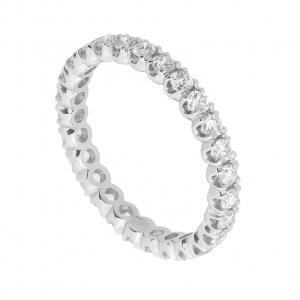 Anello Eternity Diamanti ct.0,90