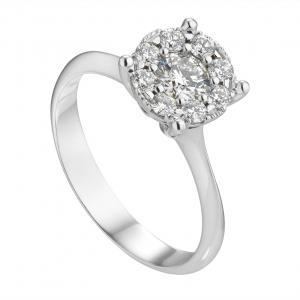 Anello Diamanti ct.0,34