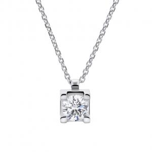 Collana Donna Oro 18kt ct.0,30 Prestige