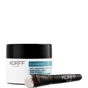 Korff Cleansing Maschera Nera con Pennello 75ml