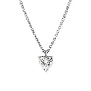 Collana Donna Oro 18kt ct.0,23 Prestige