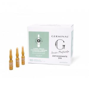 Germinal Profonda Azione Antiossidante Giorno 1ml 30 Fiale Di Azione Antiossidante