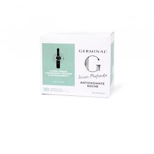 Germinal Profonda Azione Antiossidante Notte Antiossidante 1ml 30 Fiale Di Azione