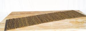 Stuoia Legno Bordato Bambù Piatto