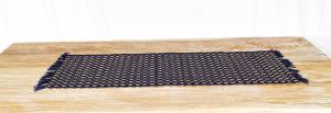 Stuoia Palma Blu  35 x 100 cm