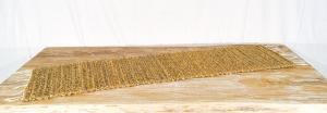 Stuoia Giacinto + frangipane  35 x 100 cm