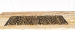 Stuoia Legno Bordato piatto  35 x 100 cm