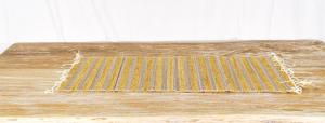 Stuoia frangipane + tessuto 35 x 95 cm