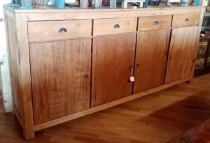 Buffet 4 cassetti 4 ante in legno di teak