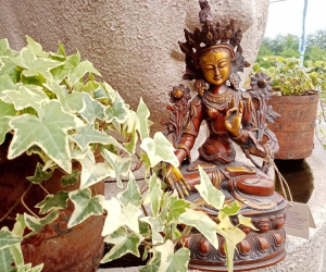 Statua di Tara in ottone