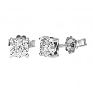 Orecchini Bliss riguarda punto luce diamanti