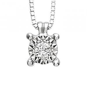 Collana Bliss Rugiada in oro e diamanti