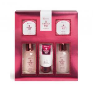 IDC Institute Scented Bath Ruby Rose & Honey Set 5 Parti 2020