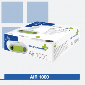Colpharma Air 100 Aerosol port