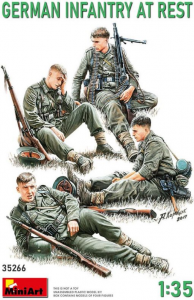 German Infantry at Rest