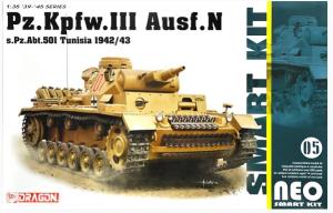 Pz.Kpfw.III Ausf.N s.Pz.Abt.501 Tunisia 1942/43