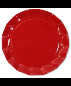 Piatti maxi in cartoncino Rosso