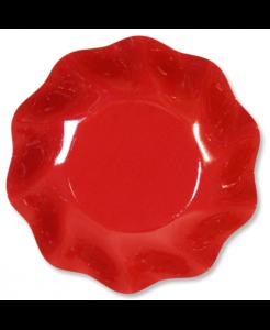Piatti in cartoncino Rosso cm. 27