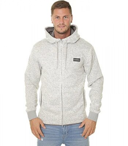 Felpa QuikSilver Keller Zip Light Grey