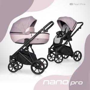 Sistema modulare - 3 in 1 - RIKO - Nano Pro - Pearl Pink