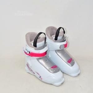 Ski Boots Technical White N°.19.5 235 Mm