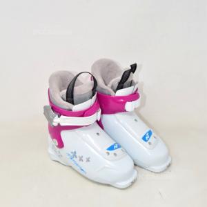 Ski Boots Nordice White N°.19.5 235 Mm