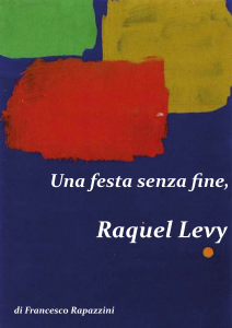 Una festa senza fine, Raquel Levy - PDF