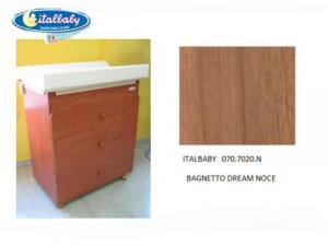 Bagnetto fasciatoio Dream 4 cassetti colore noce Italbaby ultimo pezzo