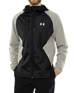 UNDER ARMOUR GIACCA CON ZIP E CAPPUCCIO