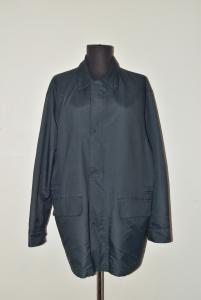 Coat Man Light Ermenegildo Zegna Original In Microtene Size L (defect Internal)
